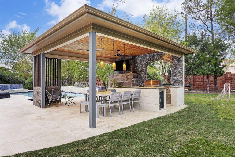 Patio Covers Houston Dallas Pergolas Patio Design Katy Texas Custom Patios Outdoor Li In 2020 Outdoor Kitchen Design Patio Design Outdoor Kitchen Design Layout