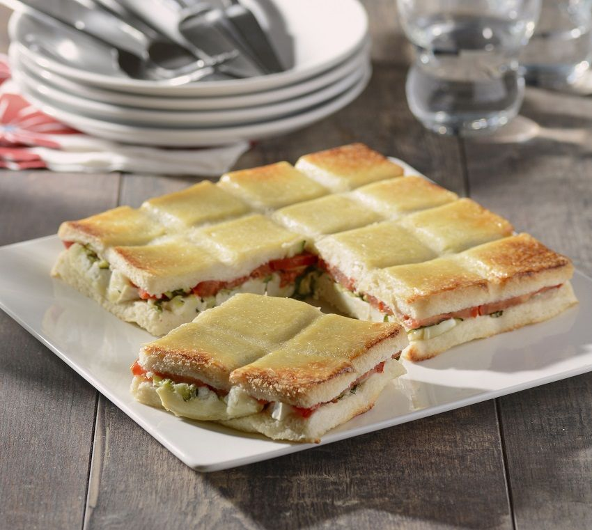 croques courgettes ch vre recette ap ro d natoire croque monsieur pizza cake et salty foods. Black Bedroom Furniture Sets. Home Design Ideas