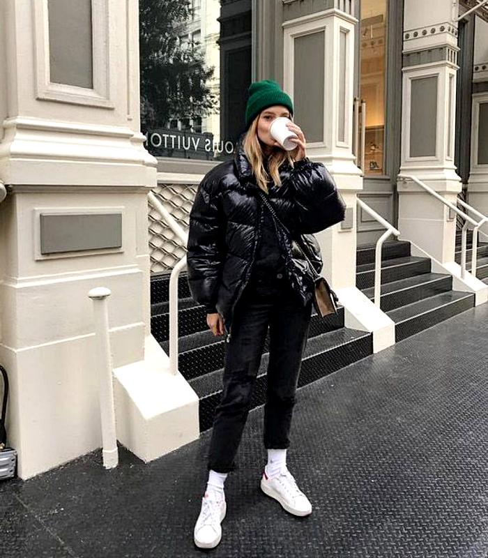 15 Formas de combinar tus jeans negros y verte fantástica – moda