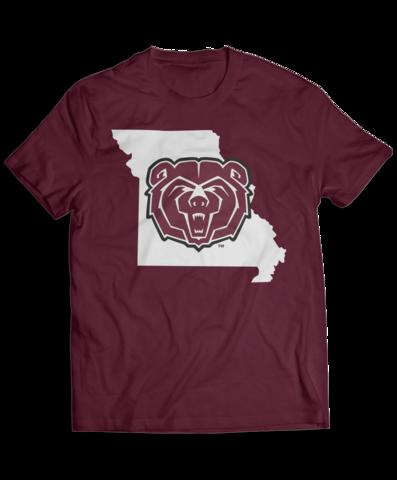 Missouri State University Logo With State Outline Missouri State University Missouri State University Logo