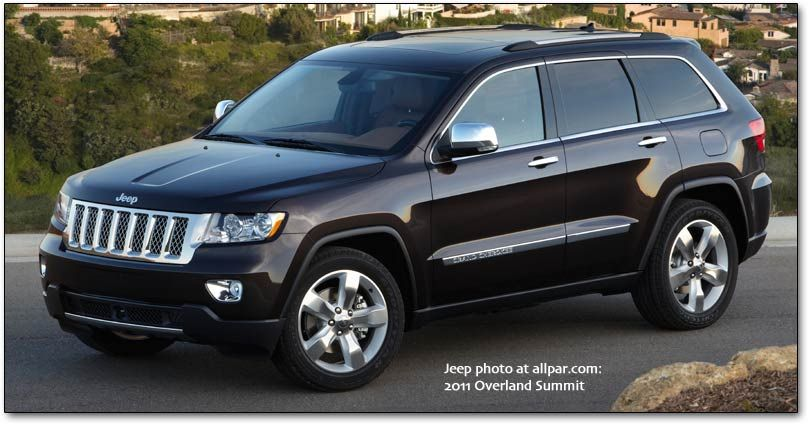 2012 Jeep Grand Cherokee Overland Edition Thinking About It