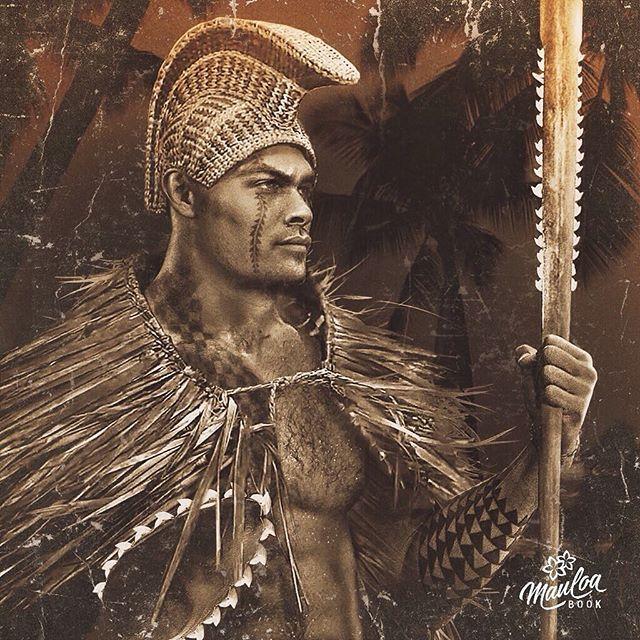 Native Series 3: Hawaiian Koa Warrior #JasonMomoa #Tribal