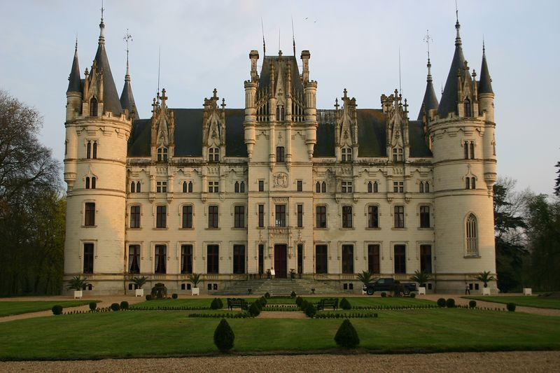 Castle Chateau Challain the Chambord of Anjou