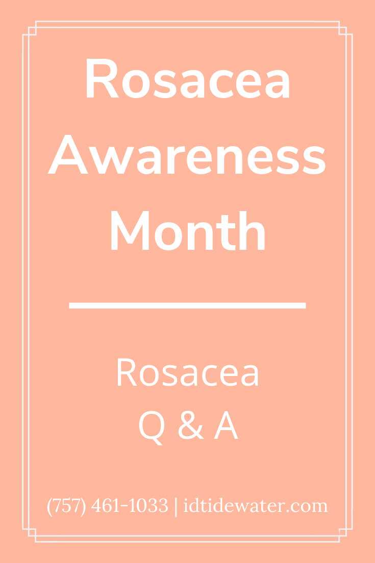 Rosacea Is Known For Causing A Blushing Effect But That S Not Its Only Symptom Top Dermatologist Jonathan Schreiber Md Rosacea Rosacea Symptoms Dermatology