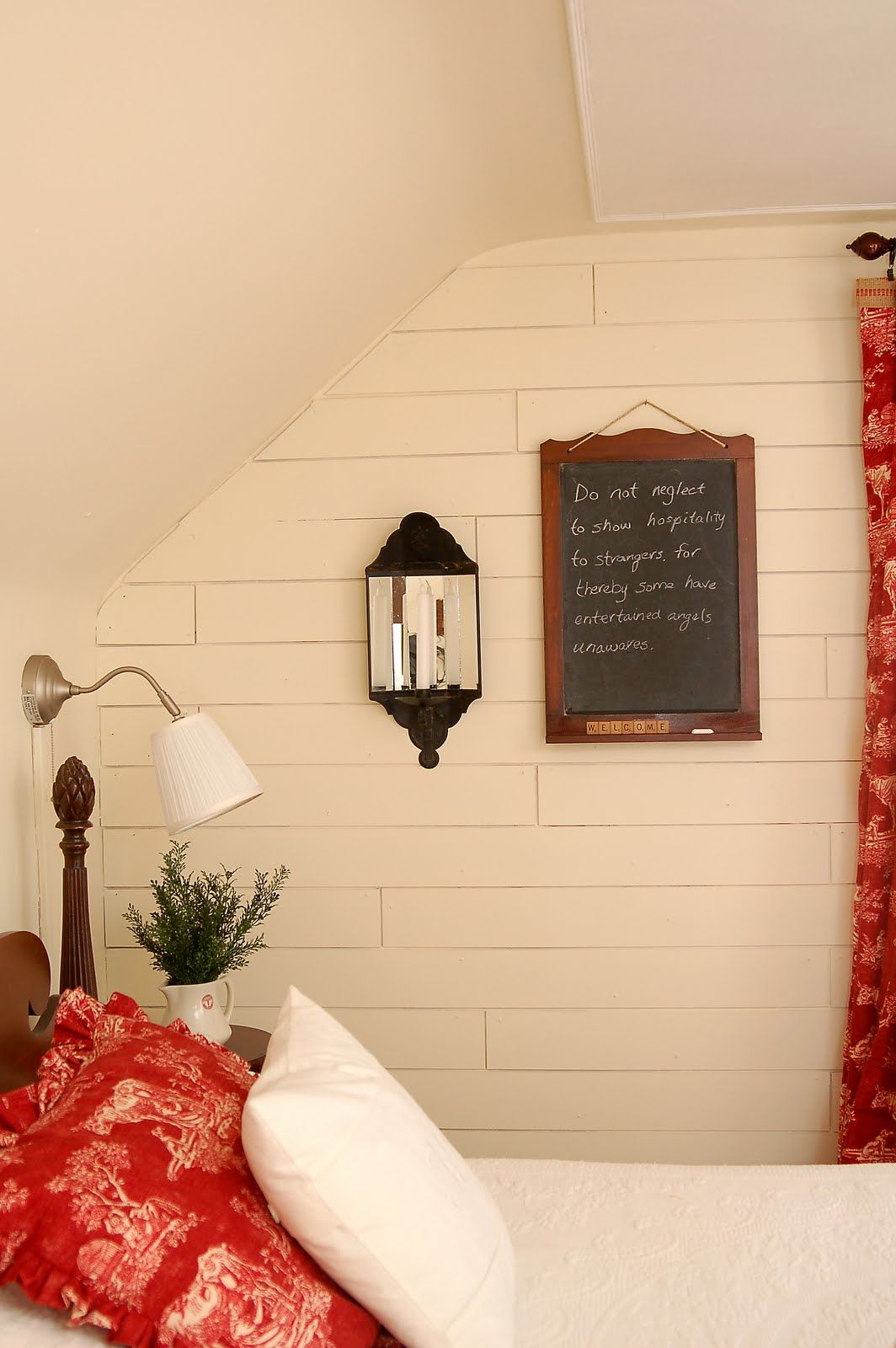 exposed board wall tutorial from miss mustard seed | For the Home ...