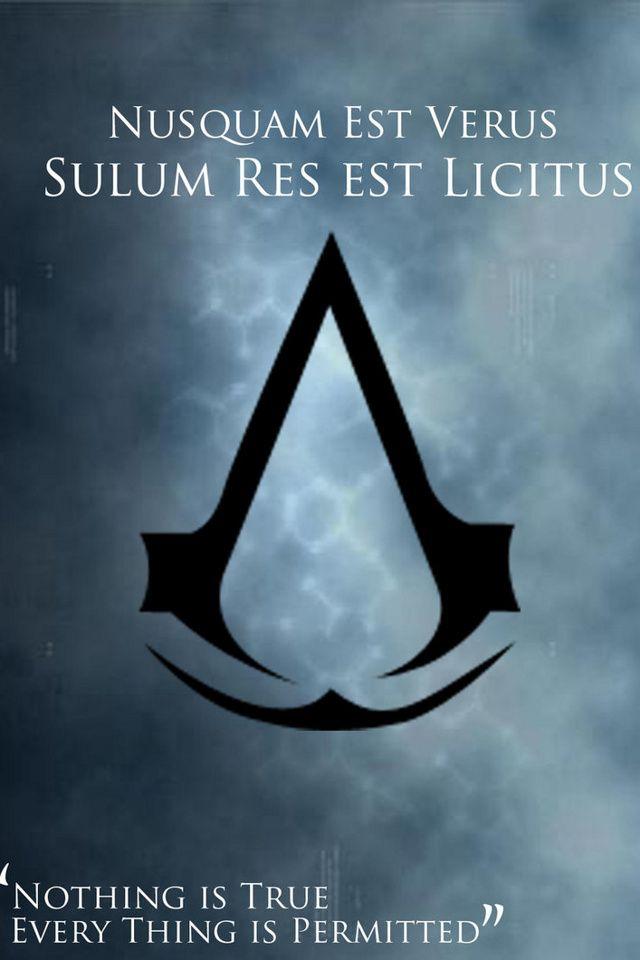 Iphone Assasins Creed Background Assassins Creed Assasins Creed Assassin S Creed Motto