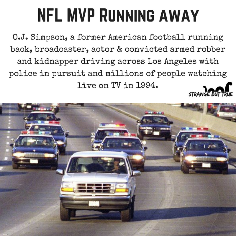 Live Telecast Of Oj Simpson Driving Away From Police True Crime Cases True Crime Watch Live Tv