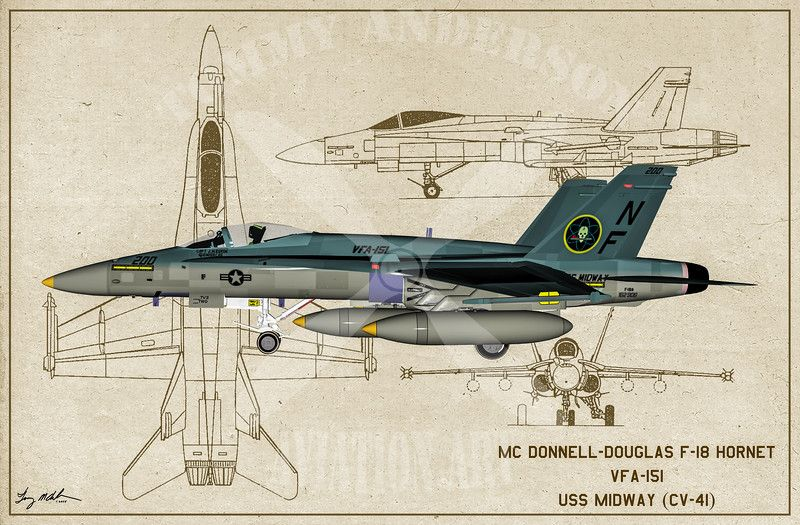 Modern aircraft united states blueprint series tommy anderson aviation malvernweather Images