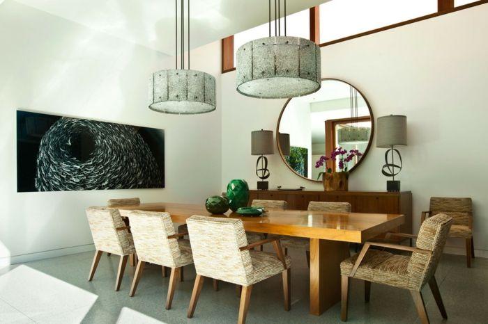 1001 ideas de decoraci n con espejos para tu hogar for Espejos redondos para decoracion