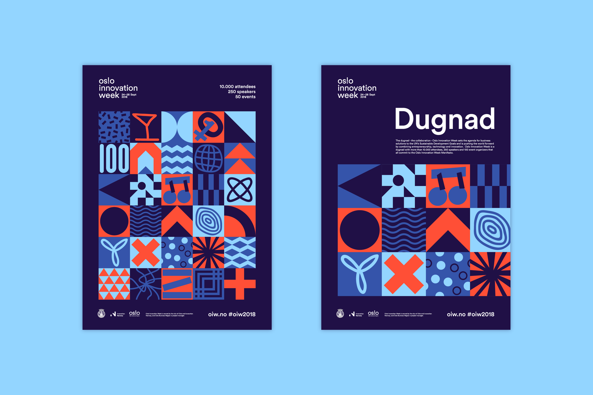 Oslo Innovation Week 2018 Metric En Book Design Magazine Layout Design Poster Design