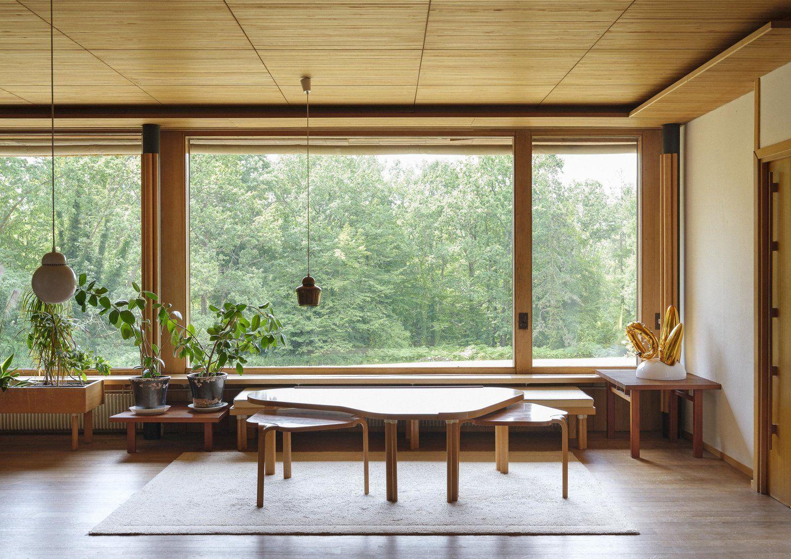 Maison Louis Carre By Alvar Aalto In 2020 Alvar Aalto Light Hardwood Floors Modernist Architects