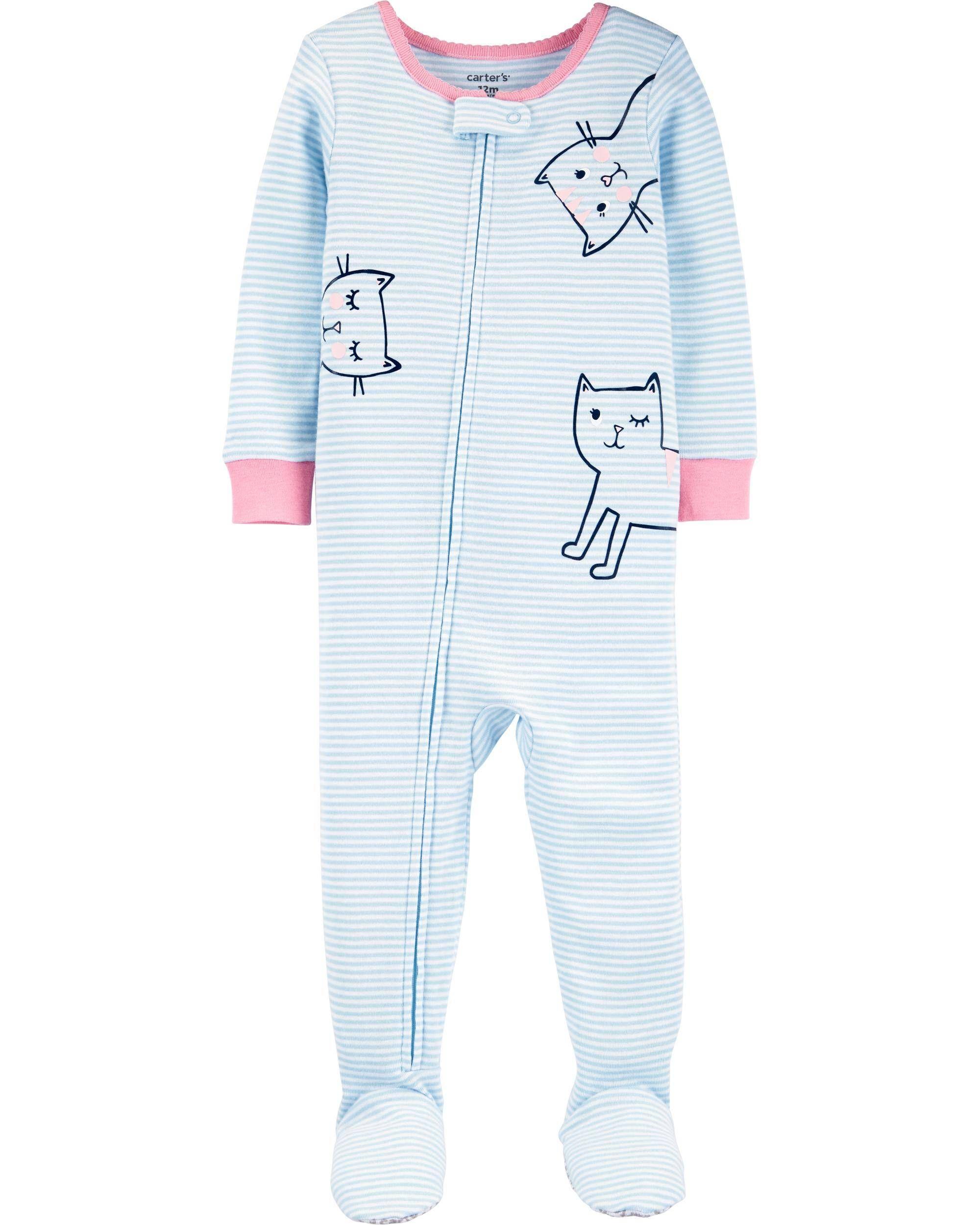 Baby girls 3 piece 100/% Cotton set bodysuit cat and giraffe