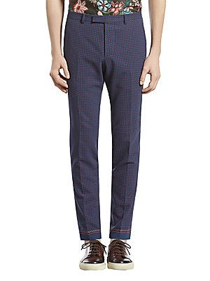 Gucci Printed Sharp Pant