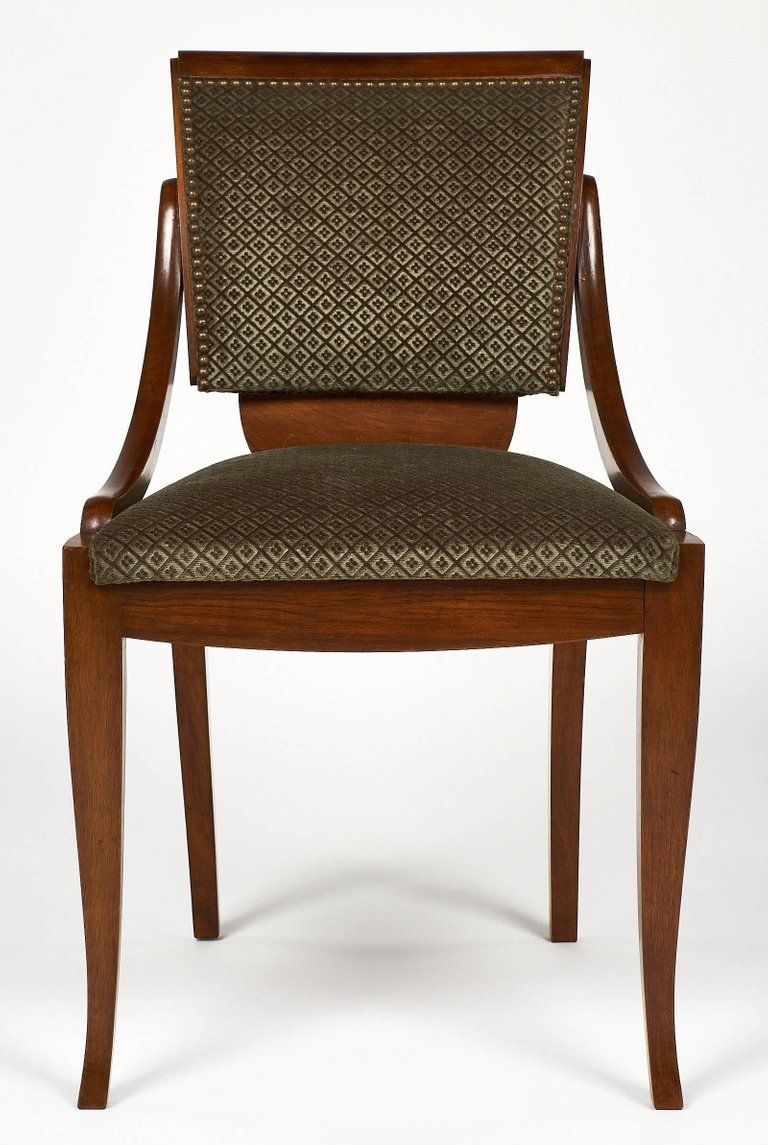 Art deco austrian dining chairs in excellent condition for