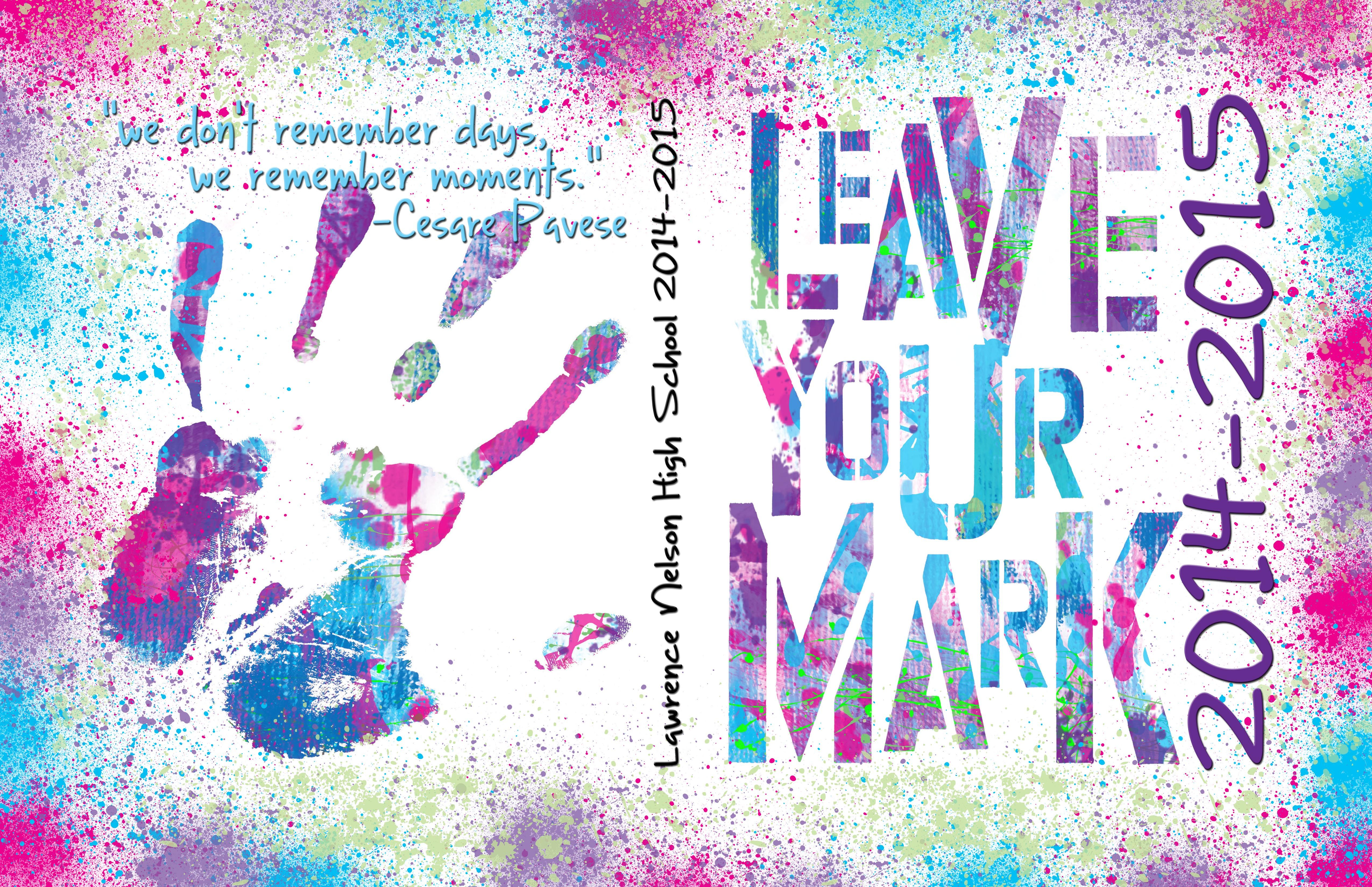 yearbook cover leave your mark google search more - Yearbook Design Ideas
