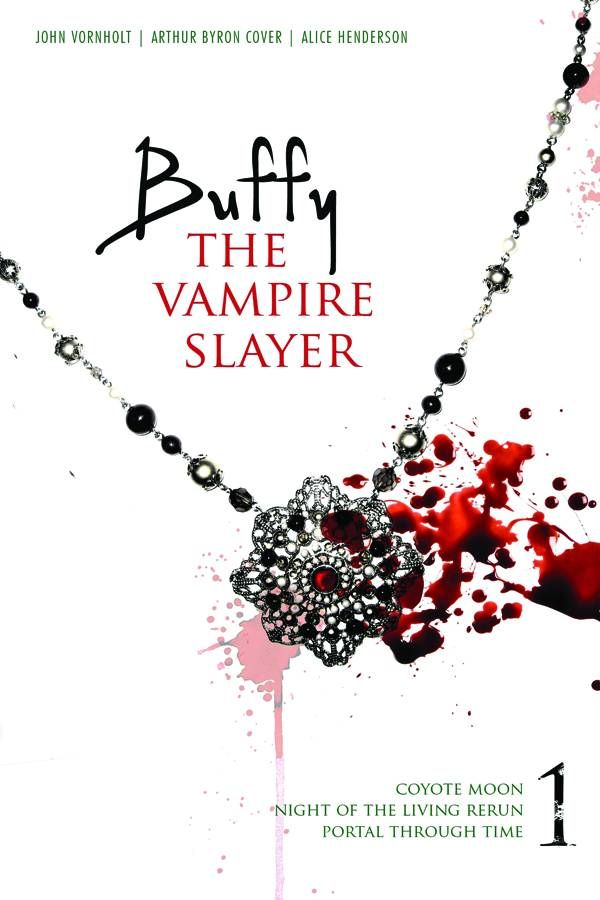 Buffy The Vampire Slayer, written by various writers (Book Series) have a hard time reading this when i can only think of where the stories might fall in the tv show. lol