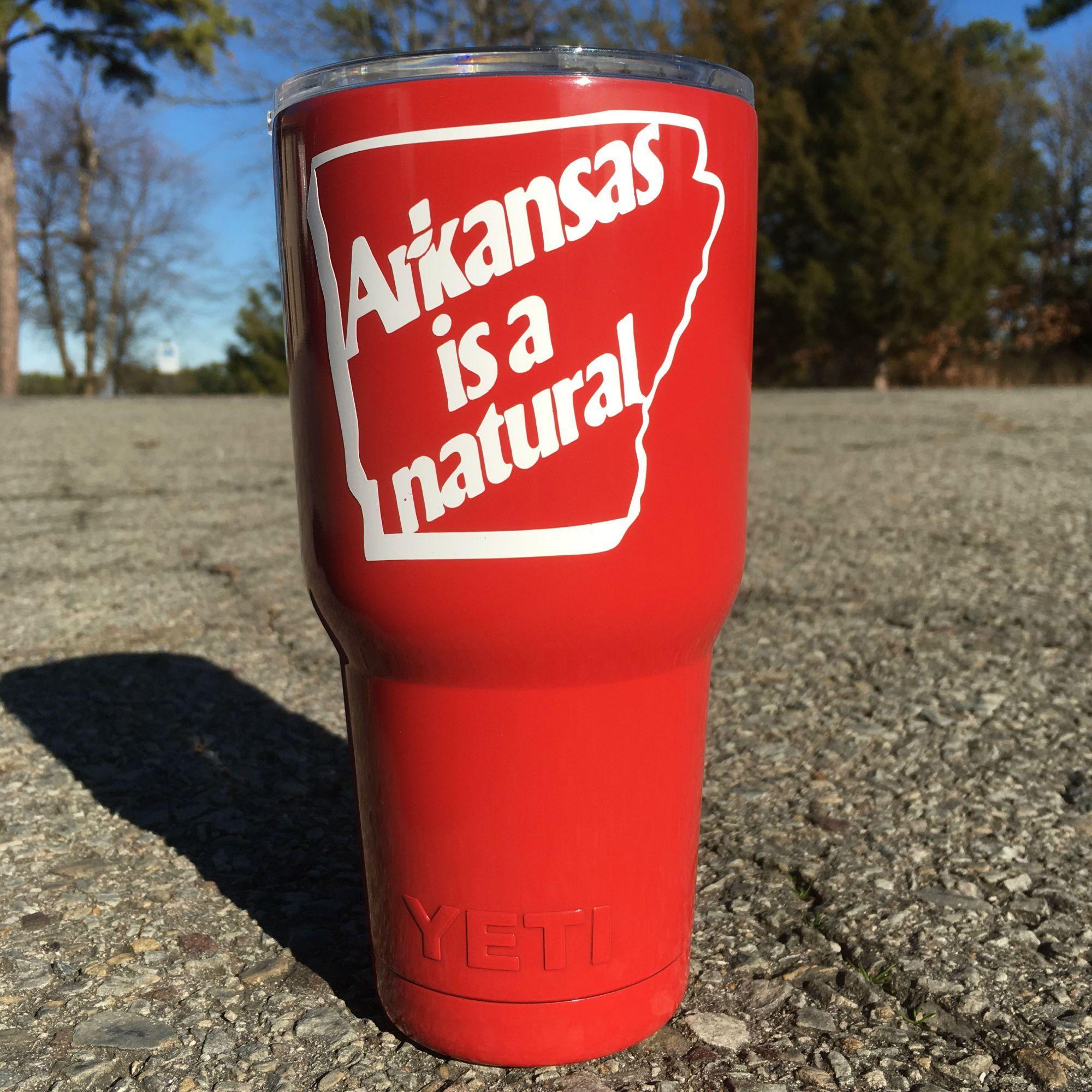 Arkansas is a natural yeti red yeti tumbler 30 oz red