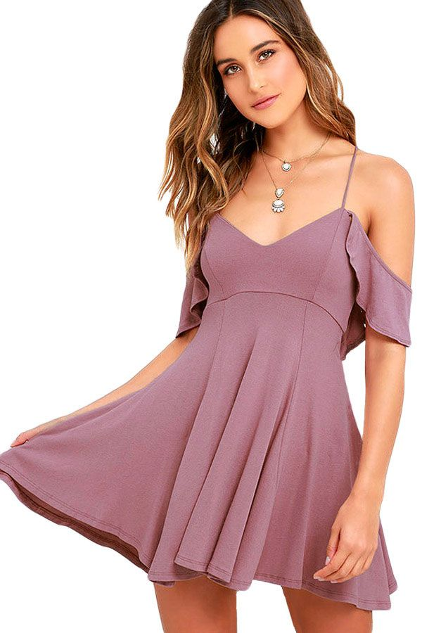 Fashion Dresses : Vestido con espalda descubierta   Cute & Sexy ...