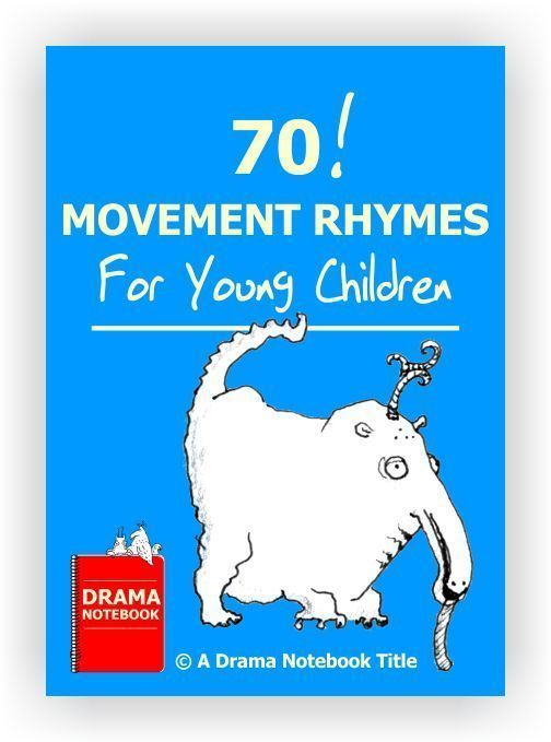 SEVENTY simple movement scripts for ages 3-5.