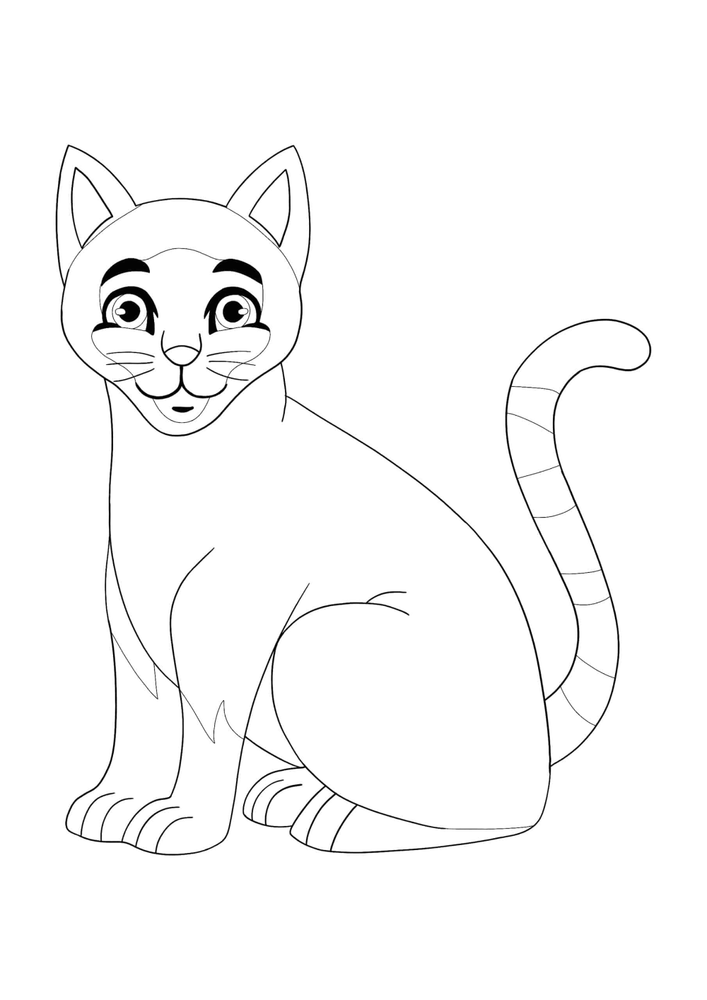 Siamese Cat Coloring Pages 2 Free Coloring Sheets 2020 Cat Coloring Page Coloring Pages Free Coloring Sheets