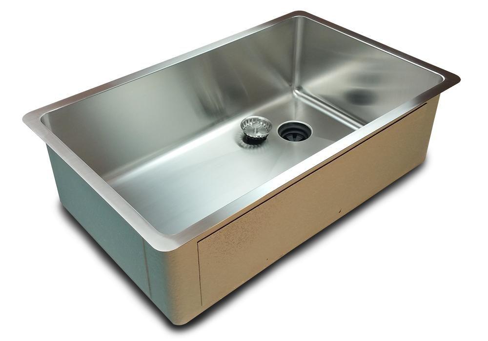 Offset Drain Kitchen Sink.30 Sink 9 Deep Single Bowl Offset Drain Right 5s30r