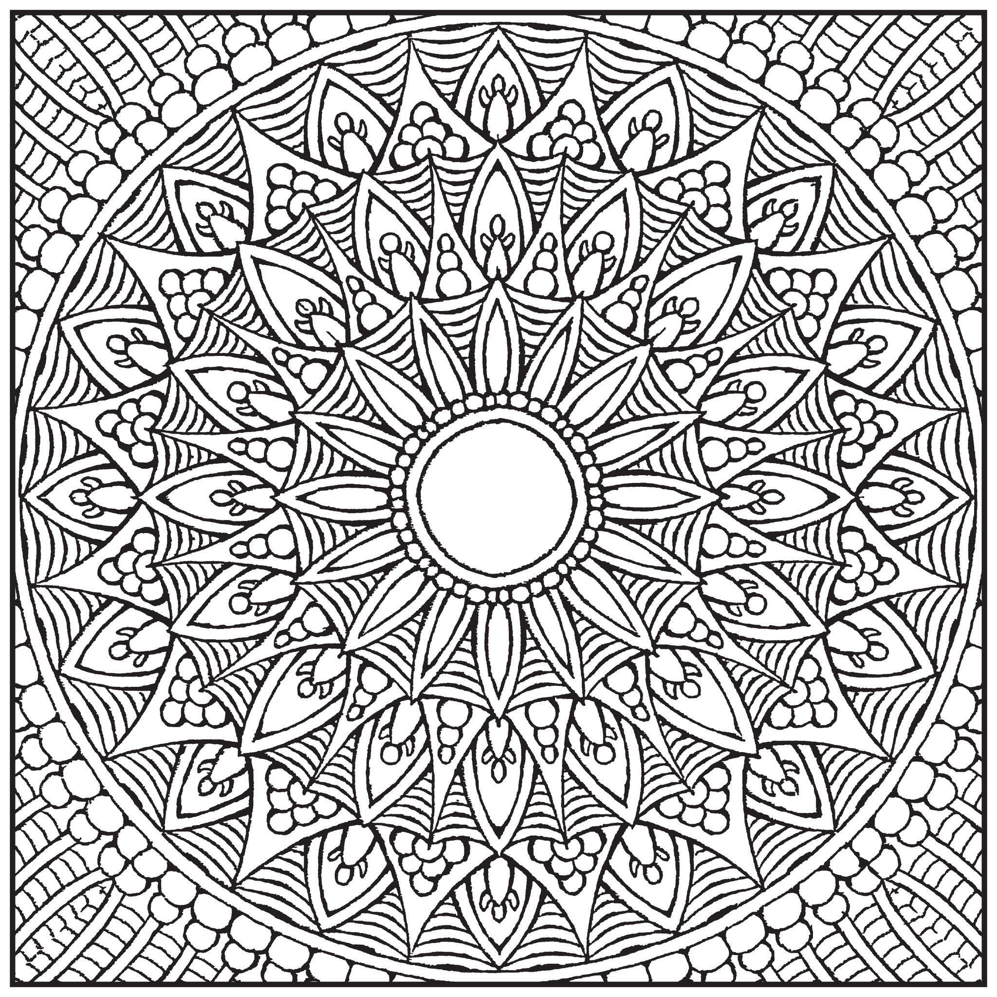 Color With Music Mandalas Adult Coloring Book Blank PageGoogle Search