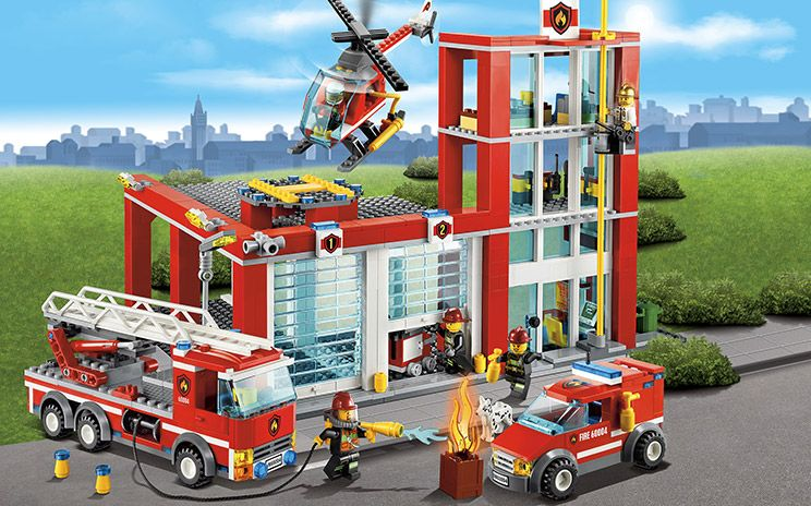estacin de bomberos  lego  Pinterest  Bomberos