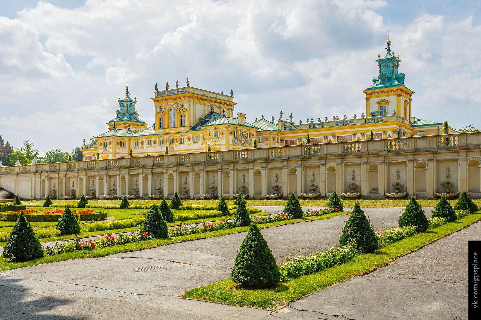 Pin von Tana auf Усадьбы и дворцы | Burg, Polen