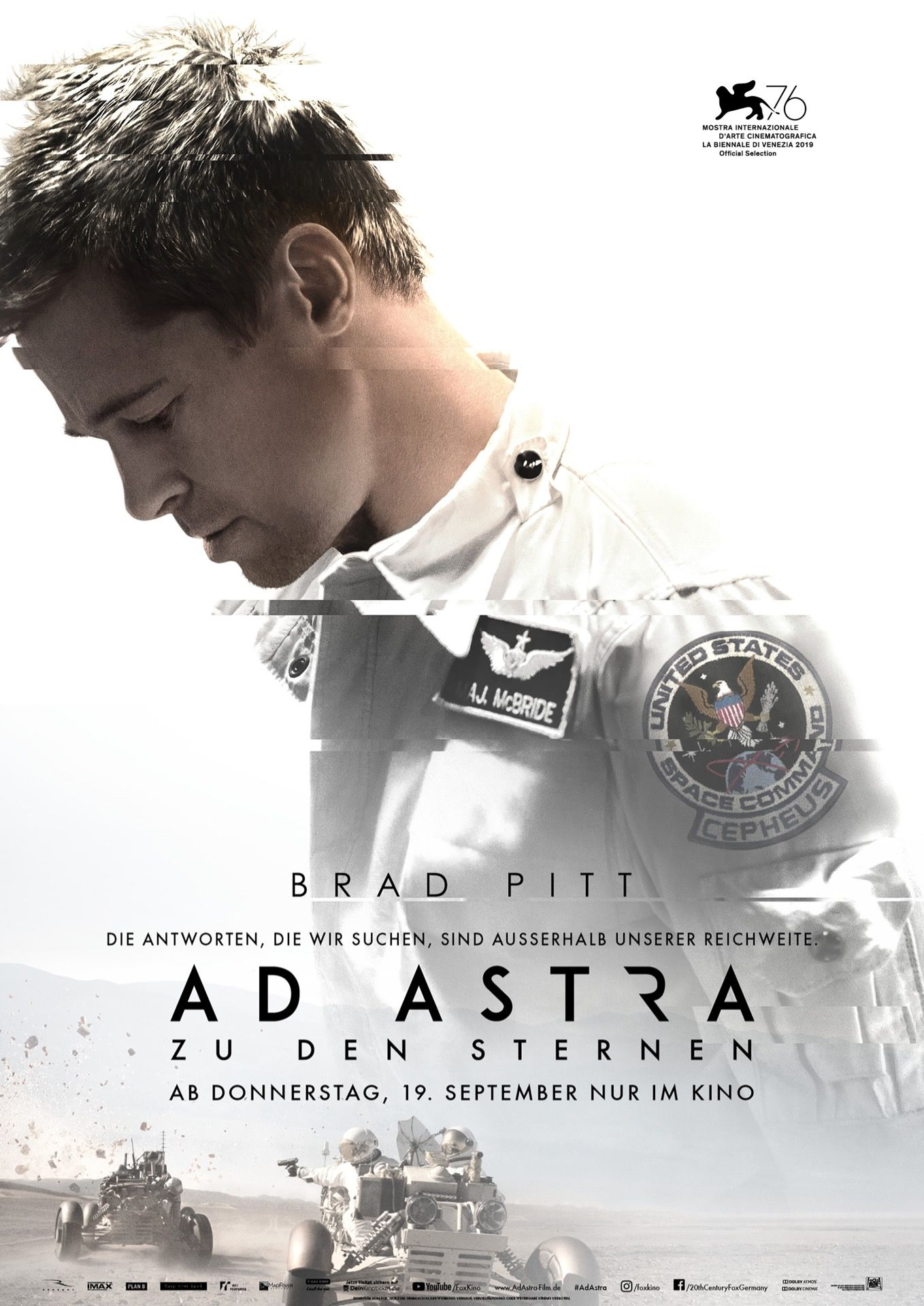 Image result for ad astra movie poster