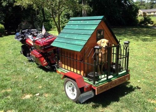 Dog House On Wheels Classic Cool Dog Houses Dog Houses Outdoor