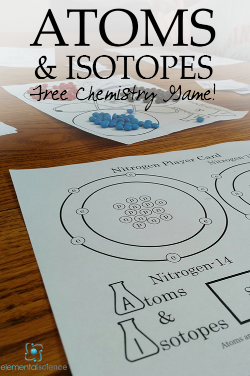 FREE Chemistry Game: Atoms and Itopes!                                                                                                                                                                                 More
