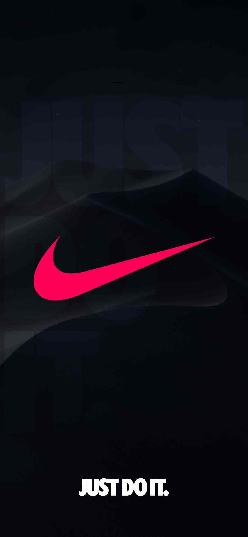 Nike Wallpaper Ios13wallpaper Nike Iphone X Series Wallpaper Ios 13 Wallpaper Dark Mo Nike Logo Wallpapers Nike Wallpaper Backgrounds Nike Wallpaper Iphone