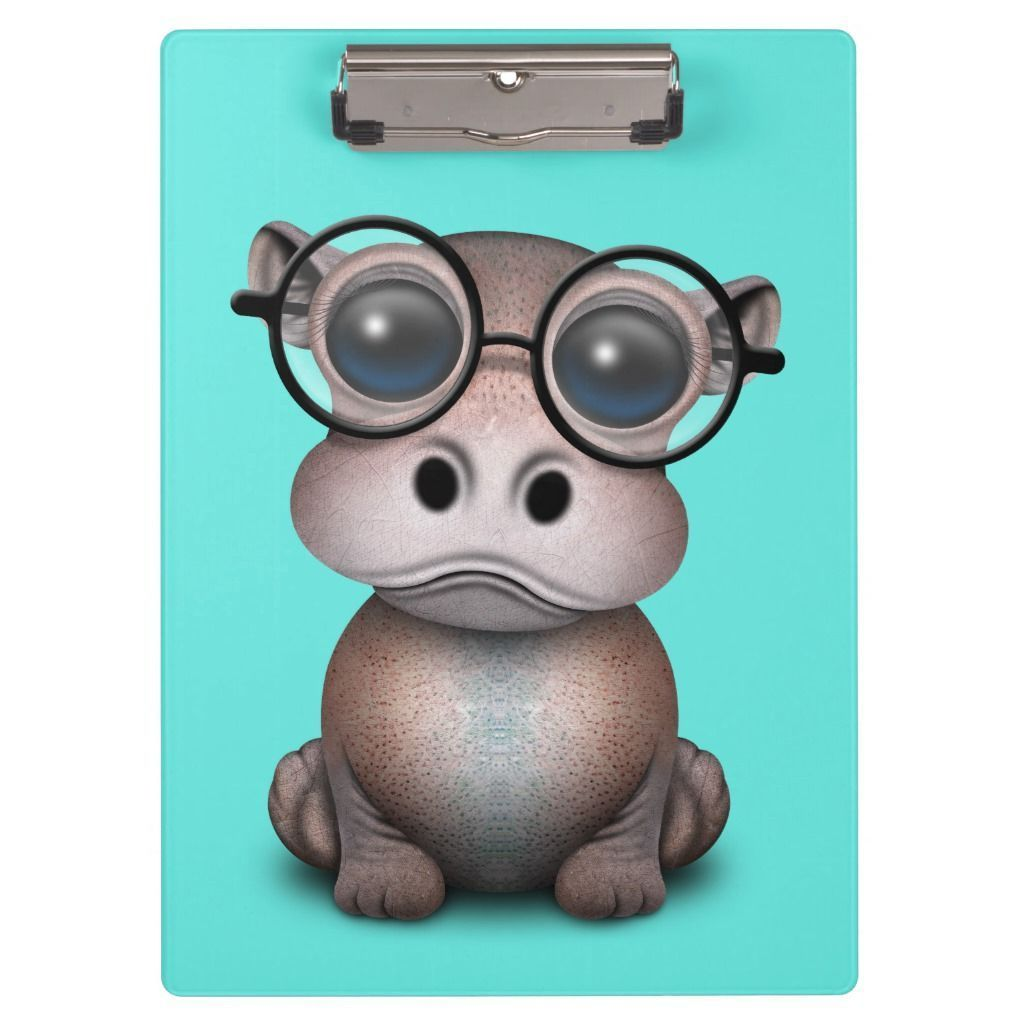 Cute Nerdy Baby Hippo Wearing Glasses Clipboard #babyhippo Cute Nerdy Baby Hippo Wearing Glasses Clipboard #babyhippo Cute Nerdy Baby Hippo Wearing Glasses Clipboard #babyhippo Cute Nerdy Baby Hippo Wearing Glasses Clipboard #babyhippo