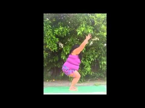 use these yoga poses for plus size women to lose weight