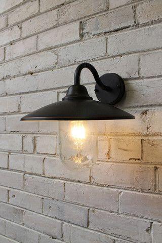Gasworks gooseneck outdoor wall light orange pinterest outdoor gasworks gooseneck outdoor wall light aloadofball Gallery