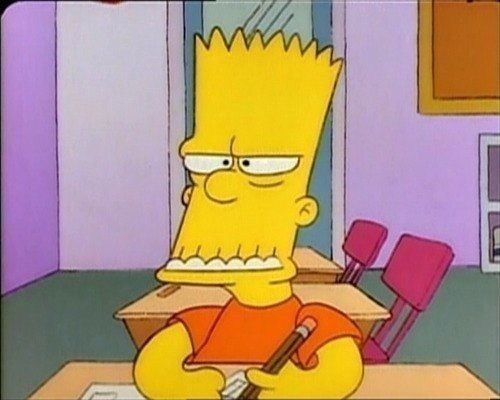 The Simpsons Weird Faces 11