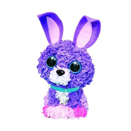 Plushcraft 3d Bunny Craft Kit 450 Pieces Plush Craft Bunny