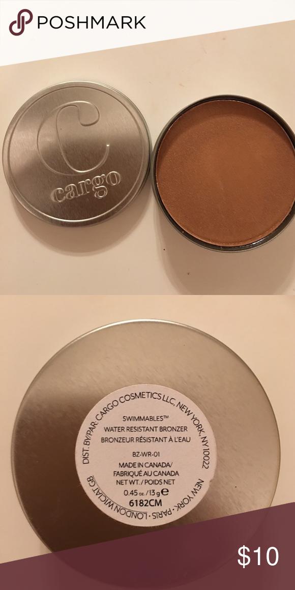 Cargo Cosmetics Bronzer | Cargo cosmetics, Cosmetics and Customer ...