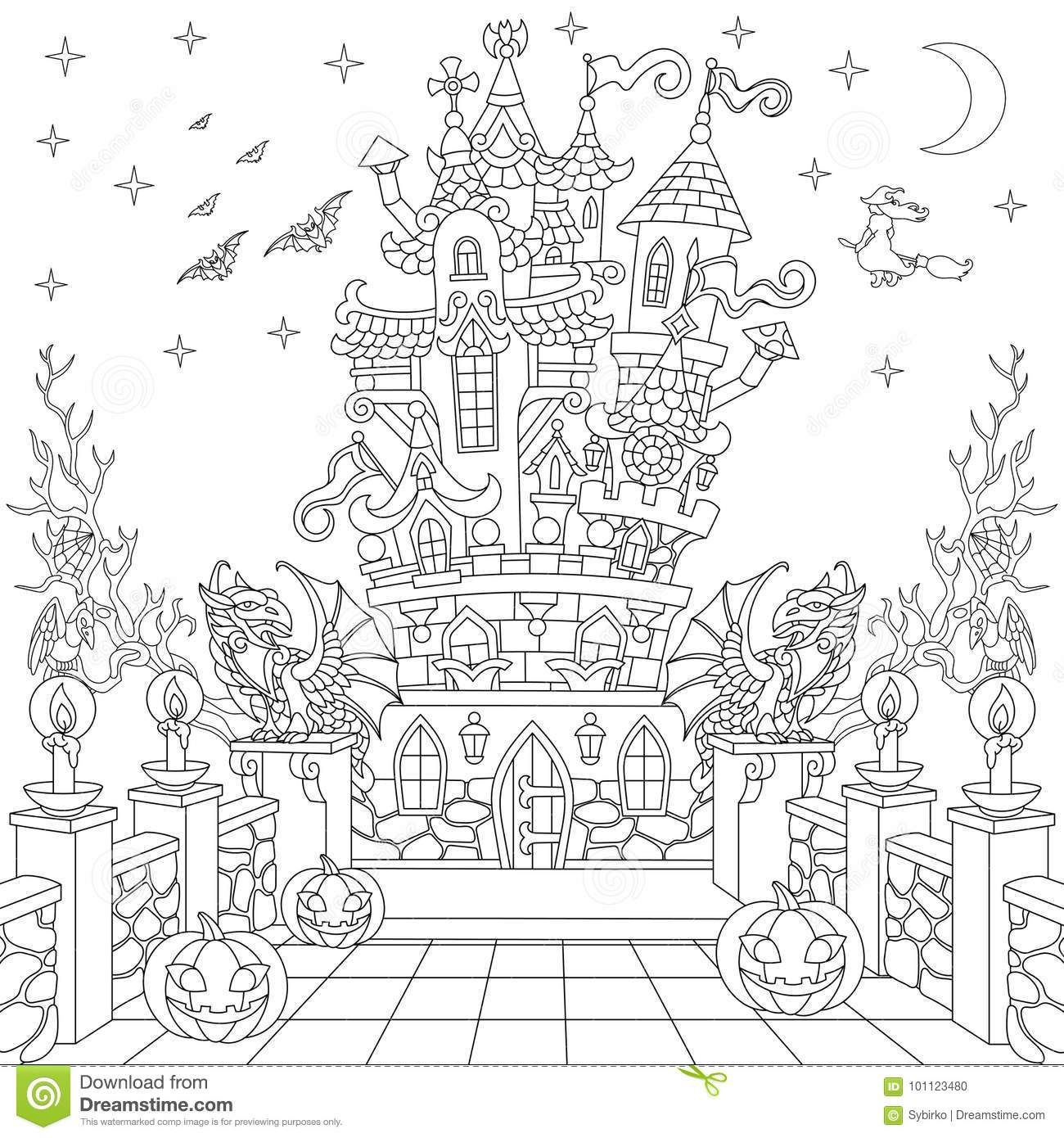 Pin By L Mainello On Colouring Halloween Coloring Pages Printable Christmas Coloring Pages Coloring Pages