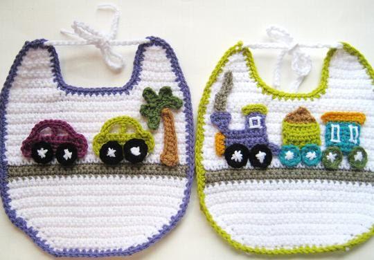 Crochet Bibs Pattern Hobby Pinterest