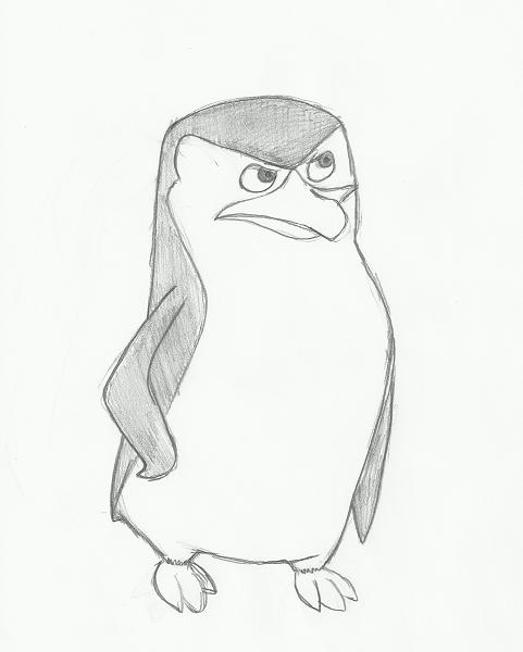 Pinguinos De Madagascar Cabo Bebe Para Colorear Pinguinos De Madagascar Dibujos Madagascar