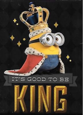 Minion Mania Party King Bob Its Good To Be King Minion