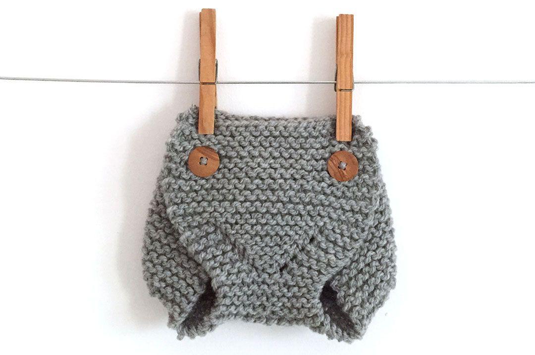 Cómo tejer una ranita cubrepañal de punto -DIY | Pinterest | Baby ...