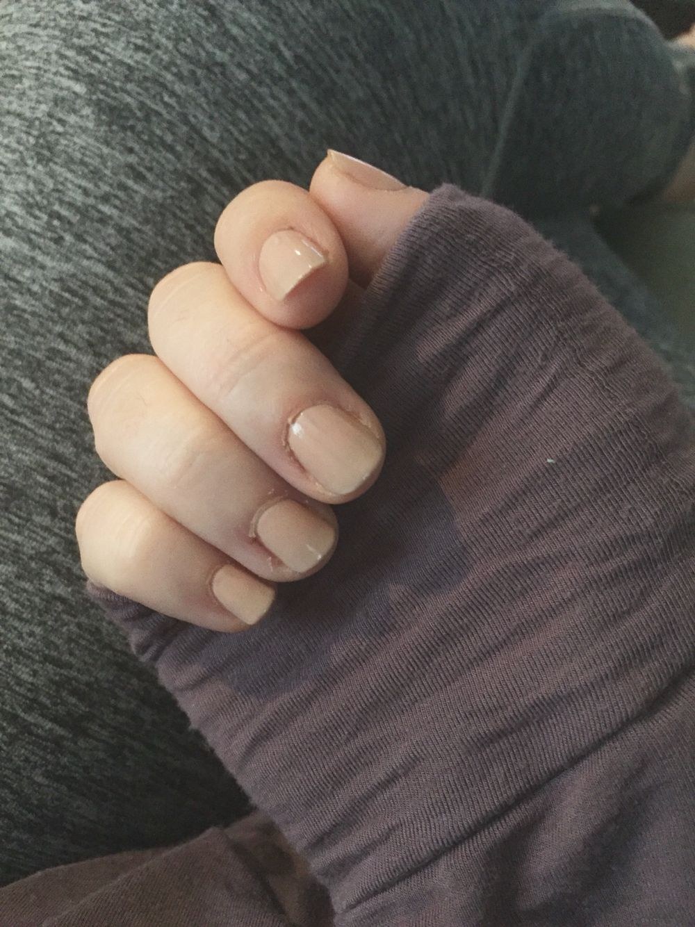 Growing Out My Nails After Biting Them My Whole Life This Is The Longest They Ve Ever Been Short Natural Nails How To Grow Nails Short Natural Nails Nails
