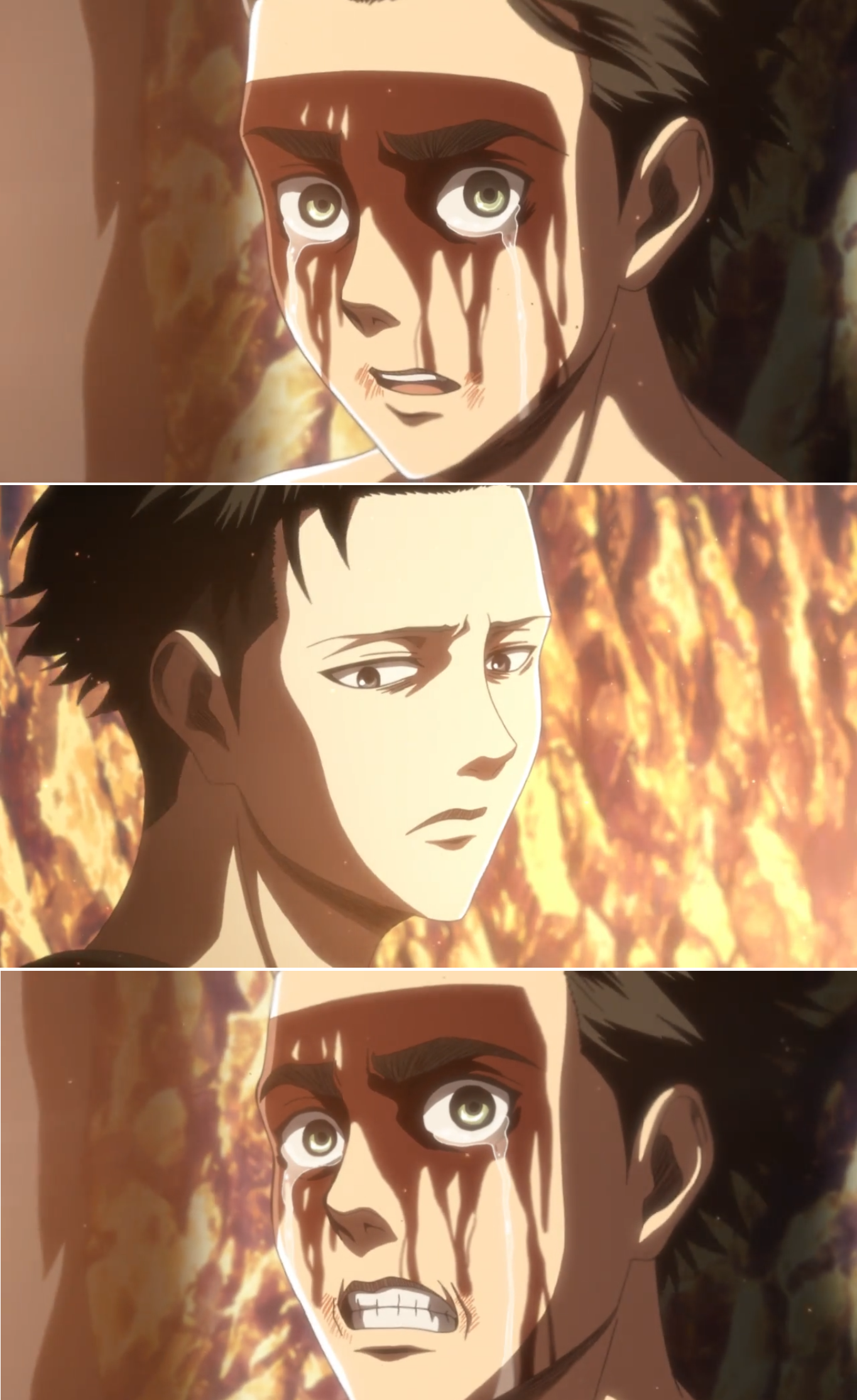 Attack On Titan Eren Levi Ep 8 Season 3