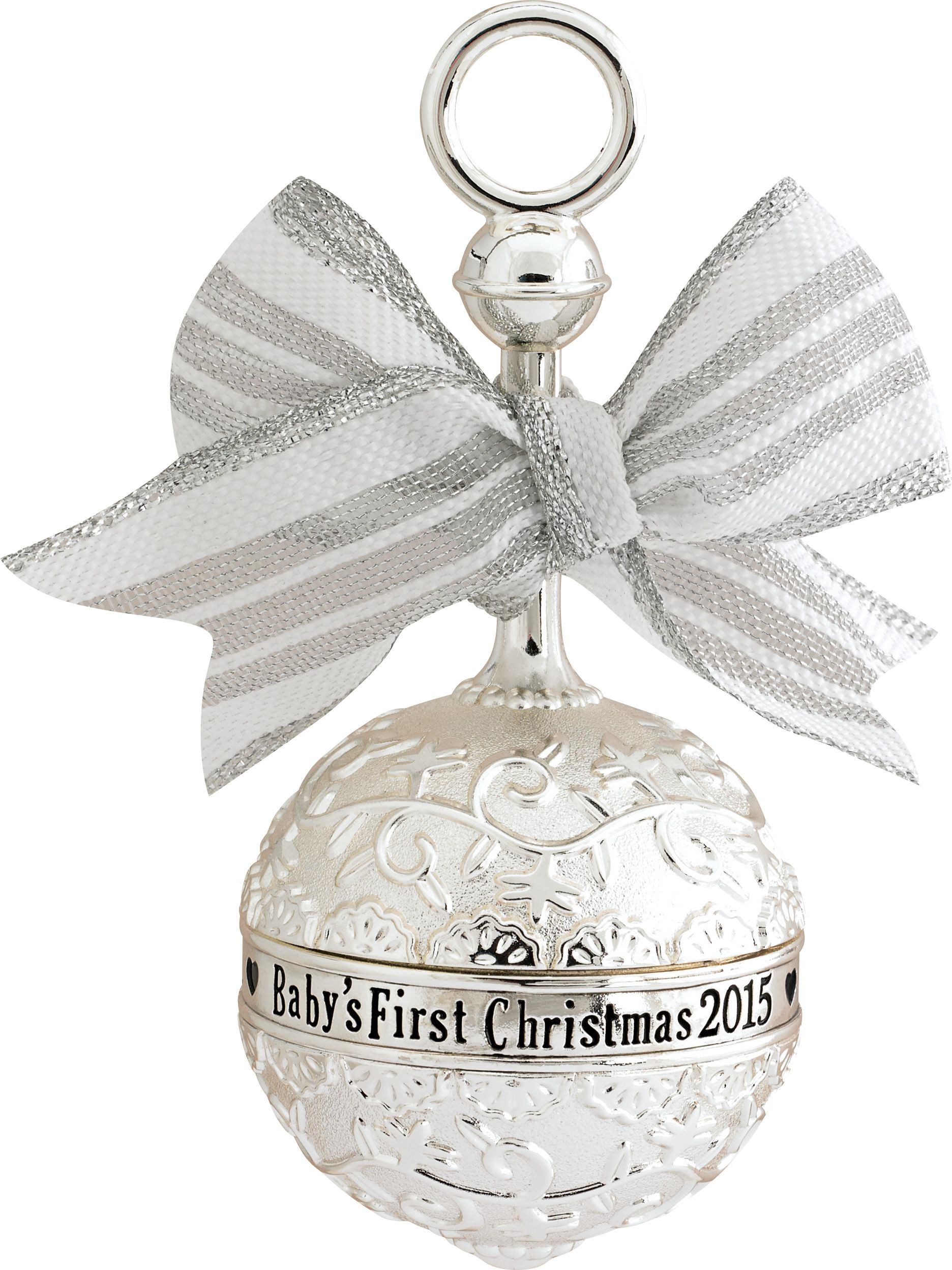 2015 Babys First Christmas Ornament  Carlton Heirloom Ornaments