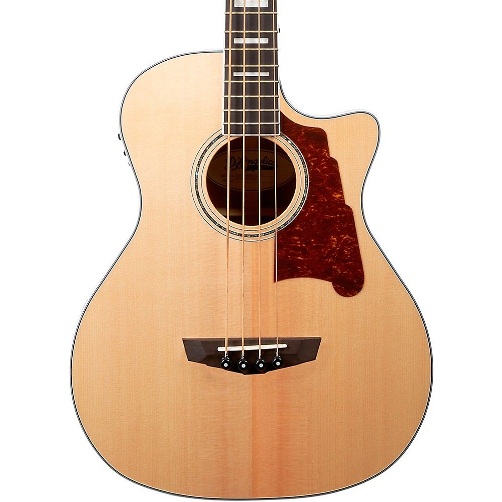 D Angelico Premier Series Mott Single Cutaway Acoustic Bass With Onboard Preamp And Tuner Acoustic Bass Acoustic Bass Guitar