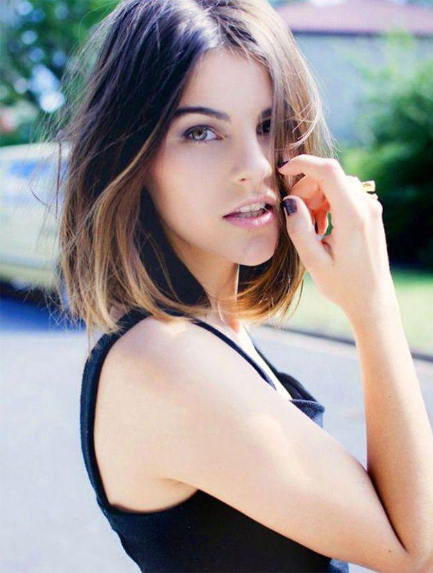Les Plus Beaux Carrés Mi Longs Vus Sur Pinterest Cheveux