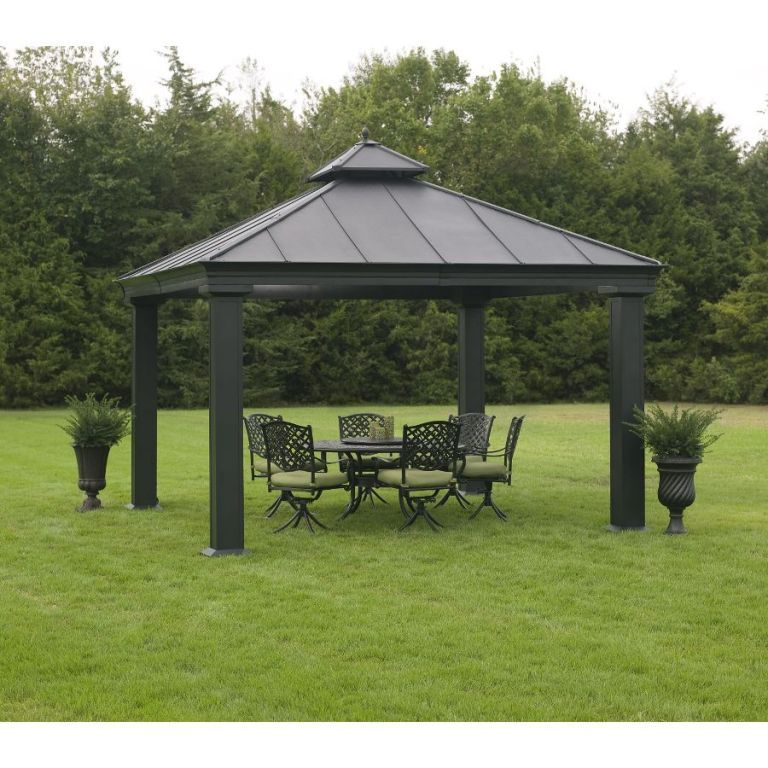 Exterior Cool Outdoor Gazebo With Netting Steel Top Gazebo Wooden Mode Size Maintenance Tips For Owners Of Wooden Garden Gazebo Hardtop Gazebo Gazebo Pergola