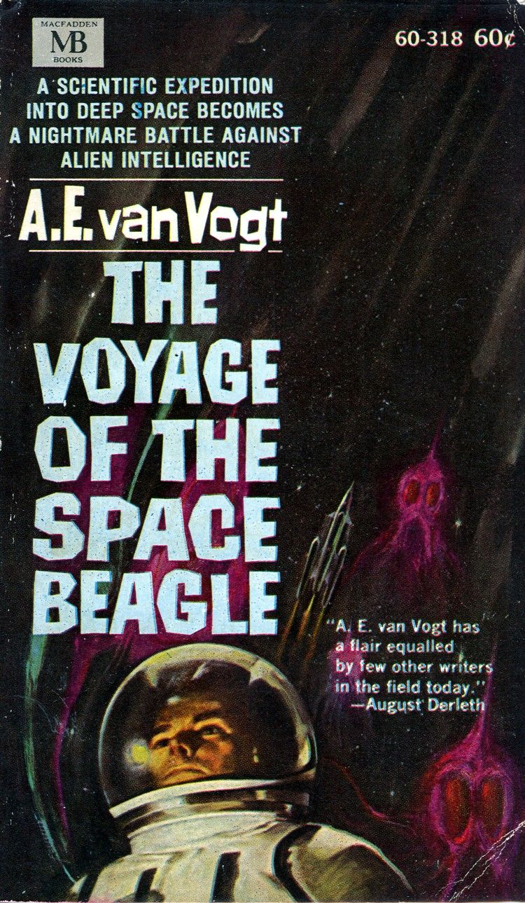 The Voyage Of The Space Beagle By A E Van Vogt
